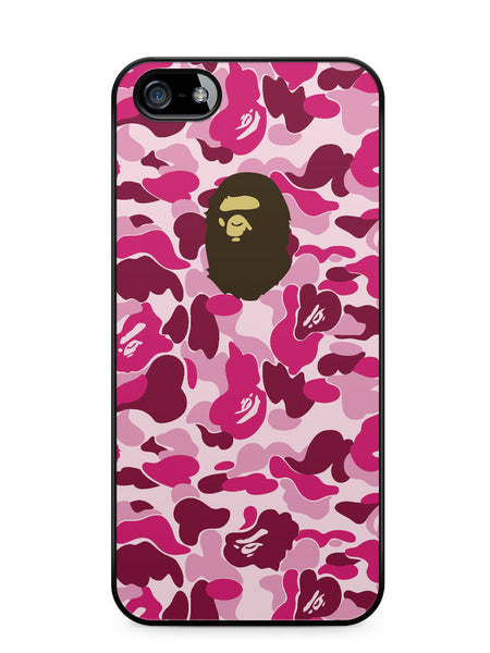 Bape Camo Pink Apple iPhone SE / iPhone 5 / iPhone 5s Case Cover  ISVA012