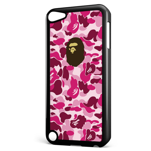 Bape Camo Pink Apple iPod Touch 5 Case Cover ISVA012