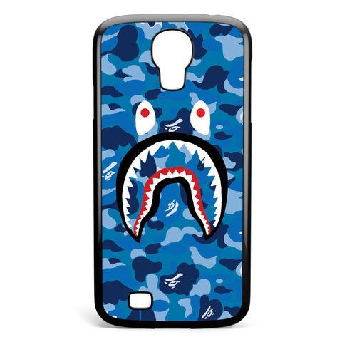 Bape Camo Shark Blue Samsung Galaxy S4 Case Cover ISVA089