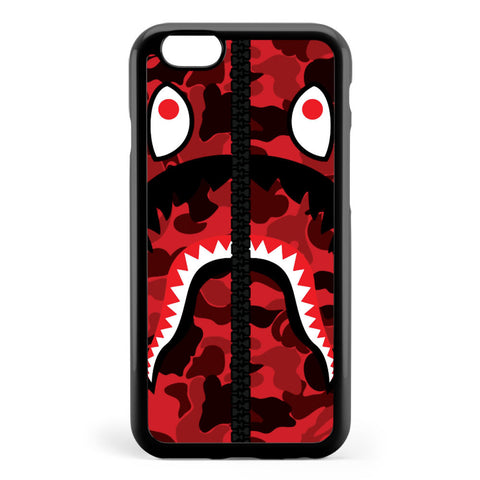 Bape Red Apple iPhone 6 / iPhone 6s Case Cover ISVH336