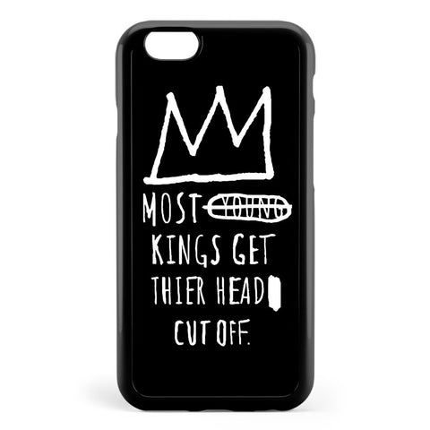 Basquiat Young Kings Quote Apple iPhone 6 / iPhone 6s Case Cover ISVH338