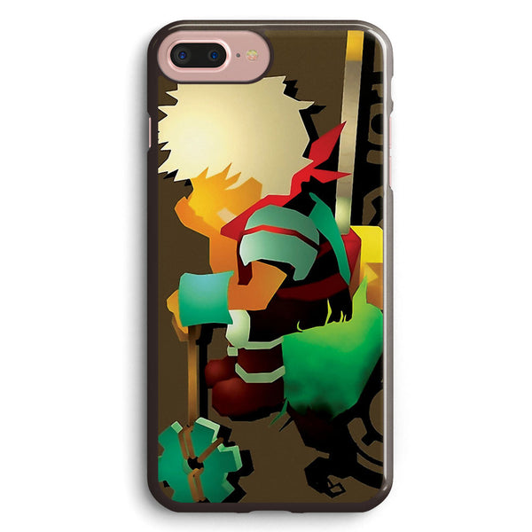 Bastion Let the Kid Think Apple iPhone 7 Plus Case Cover ISVE933
