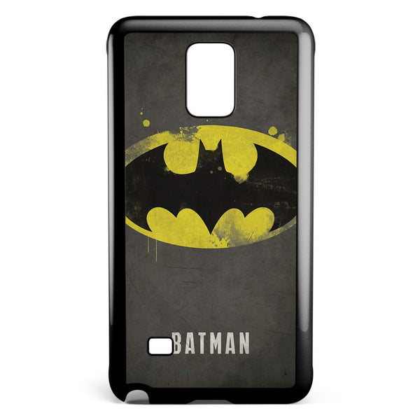 Batman Logo Vintage Samsung Galaxy Note 4 Case Cover ISVA439