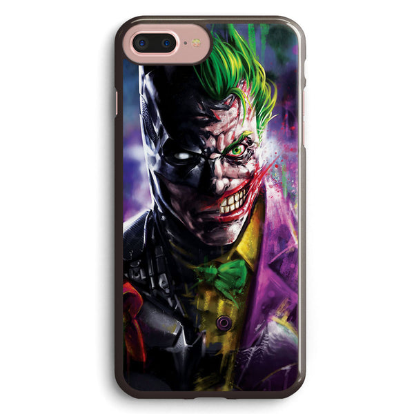 Batman Meets Joker Apple iPhone 7 Plus Case Cover ISVA812