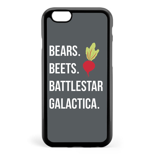 Bears Beets Battlestar Galactica the Office Apple iPhone 6 / iPhone 6s Case Cover ISVH719