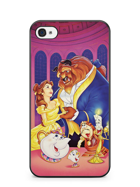Beauty and the Beast Apple iPhone 4 / iPhone 4S Case Cover ISVA016