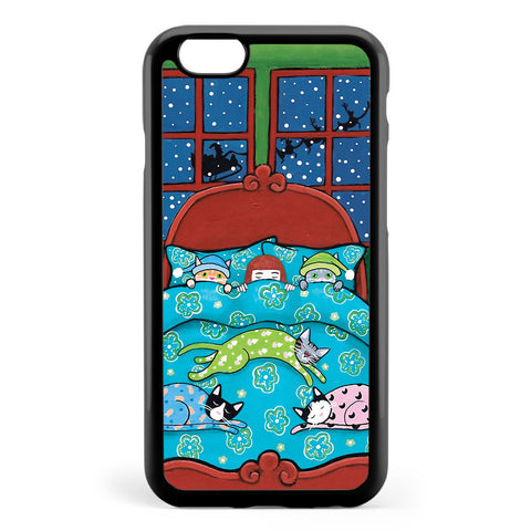 Bedtime with Cats Apple iPhone 6 / iPhone 6s Case Cover ISVE943