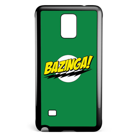 Big Bang Theory Green Bazinga Samsung Galaxy Note 4 Case Cover ISVA424