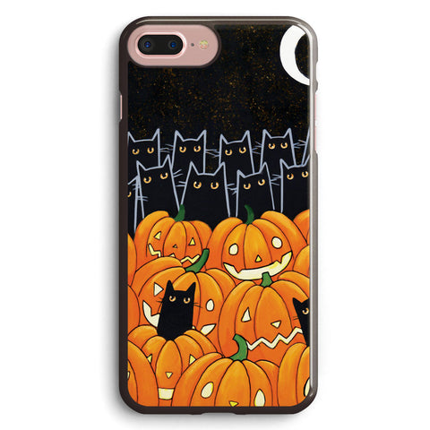 Black Cats & Jack O Lanterns Apple iPhone 7 Plus Case Cover ISVB983