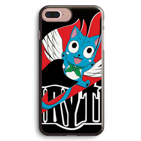 Black Fairy Tail and Red Happy Logo Apple iPhone 7 Plus Case Cover ISVE954