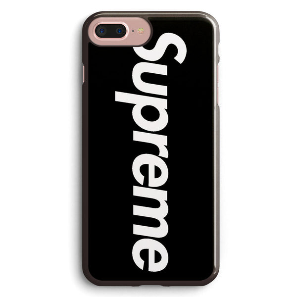 Black Supreme Logo Apple iPhone 7 Plus Case Cover ISVA283