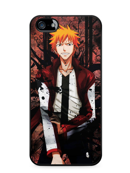 Bleach Ichigo Red Hair Apple iPhone SE / iPhone 5 / iPhone 5s Case Cover  ISVA507