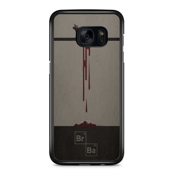 Bloody Breaking Bad Samsung Galaxy S7 Edge Case Cover ISVA572