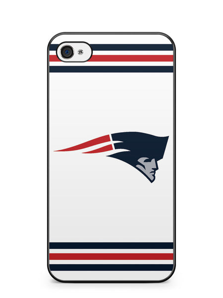 Blue and Red New England Patriots Logo Apple iPhone 4 / iPhone 4S Case Cover ISVA198