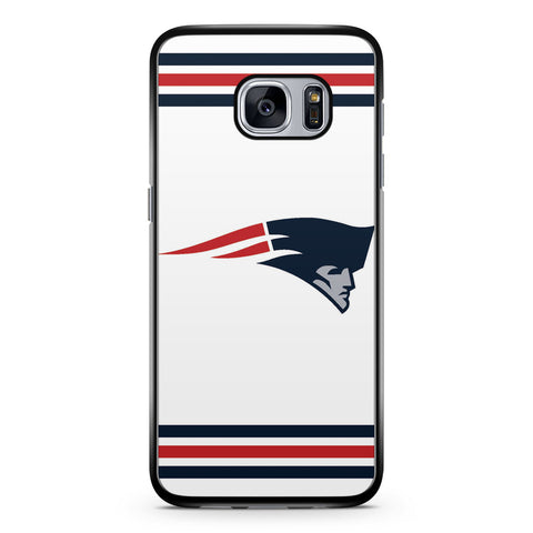 Blue and Red New England Patriots Logo Samsung Galaxy S7 Case Cover ISVA198