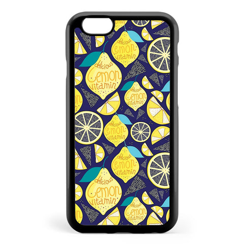 Bright Pattern of Lemons Apple iPhone 6 / iPhone 6s Case Cover ISVD248