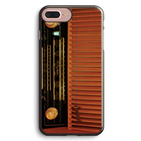 Brown Wood Retro Radio Apple iPhone 7 Plus Case Cover ISVC649