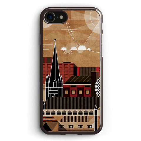 Brum Cityscape Apple iPhone 7 Case Cover ISVE416
