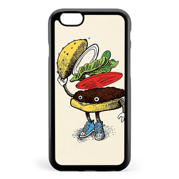 Burger Greeting Apple iPhone 6 / iPhone 6s Case Cover ISVB432