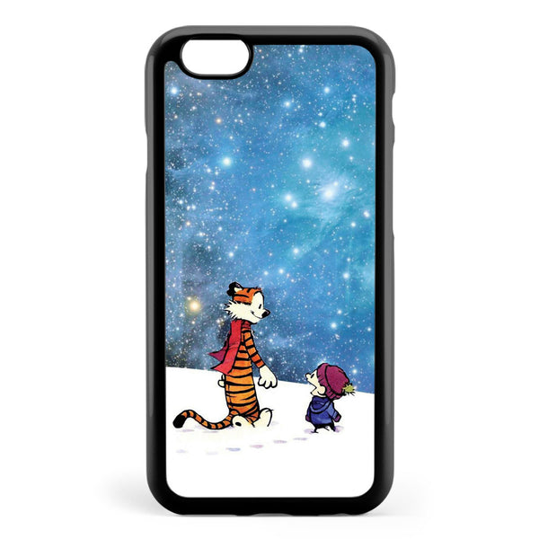 Calvin and Hobbes Winter Apple iPhone 6 / iPhone 6s Case Cover ISVE424