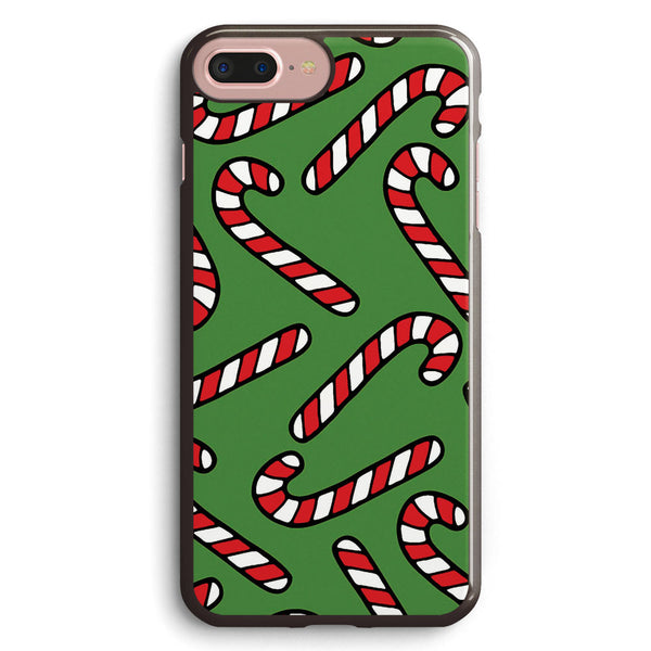 Candy Cane Pattern Apple iPhone 7 Plus Case Cover ISVE978