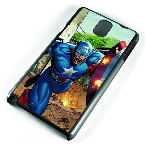 Captain Americ Marvel Comics Samsung Galaxy Note 3 Case Cover ISVA465