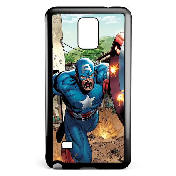 Captain Americ Marvel Comics Samsung Galaxy Note 4 Case Cover ISVA465