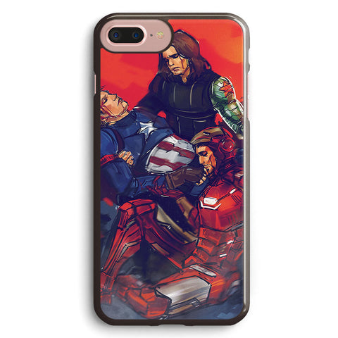 Captain America Death Civil War Apple iPhone 7 Plus Case Cover ISVG456