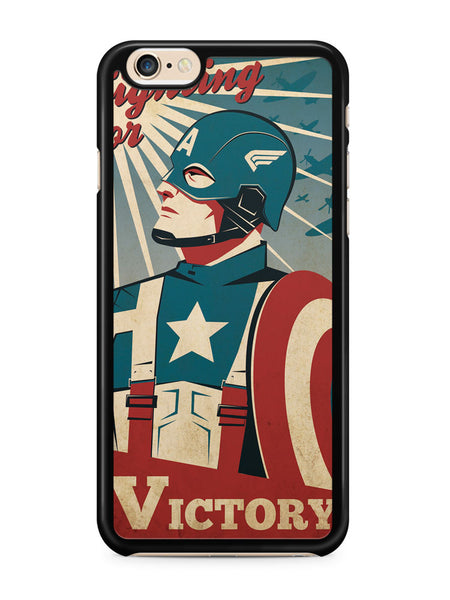 Captain America Fight for Victory Apple iPhone 6 / iPhone 6s Case Cover ISVA326