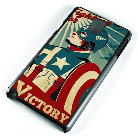 Captain America Fight for Victory Samsung Galaxy Note 3 Case Cover ISVA326