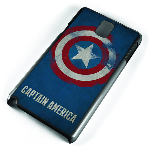 Captain America Grunge Logo Art Samsung Galaxy Note 3 Case Cover ISVA324