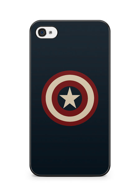 Captain America Logo Apple iPhone 4 / iPhone 4S Case Cover ISVA188