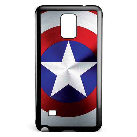 Captain America Shield Samsung Galaxy Note 4 Case Cover ISVA019