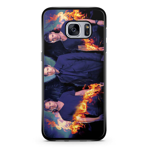 Castiel, Dean and Sam Supernatural Samsung Galaxy S7 Case Cover ISVA370