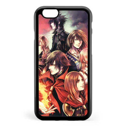 Characters from Final Fantasy's Fabula Nova Crystallis Apple iPhone 6 / iPhone 6s Case Cover ISVE437