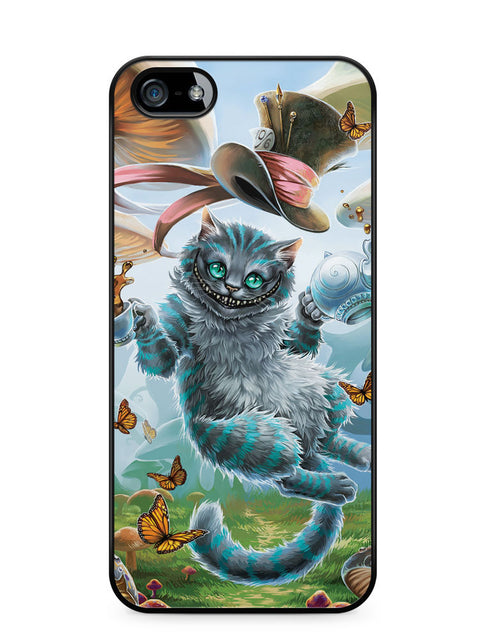 Cheshire Cat Alice in Wonderland Apple iPhone 5c Case Cover ISVA506