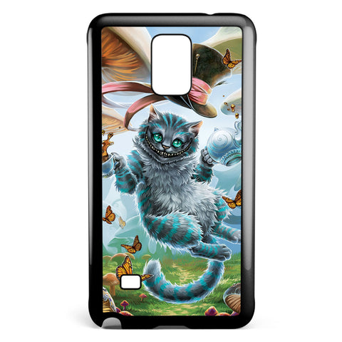 Cheshire Cat Alice in Wonderland Samsung Galaxy Note 4 Case Cover ISVA506