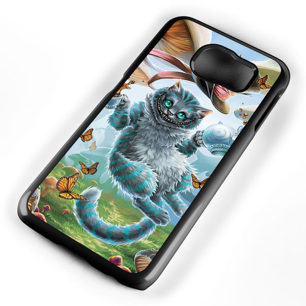 Cheshire Cat Alice in Wonderland Samsung Galaxy S6 Case Cover ISVA506