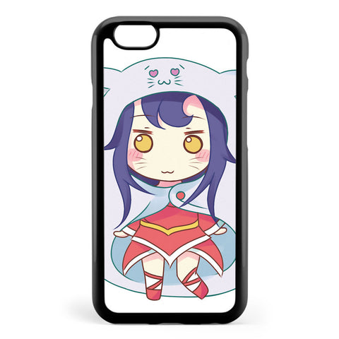 Chibi Ahri League of Legends Apple iPhone 6 / iPhone 6s Case Cover ISVE442