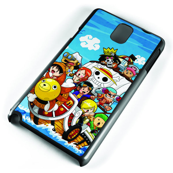Chibi One Piece Samsung Galaxy Note 3 Case Cover ISVA595