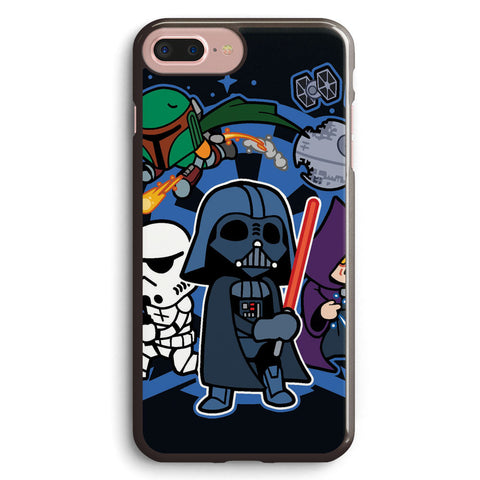 Chibi Star Wars Apple iPhone 7 Plus Case Cover ISVA429