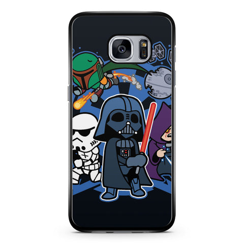 Chibi Star Wars Samsung Galaxy S7 Case Cover ISVA429