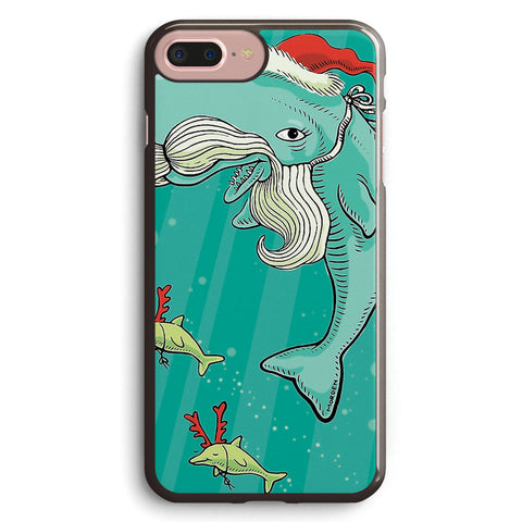 Christmas Whale Apple iPhone 7 Plus Case Cover ISVF001