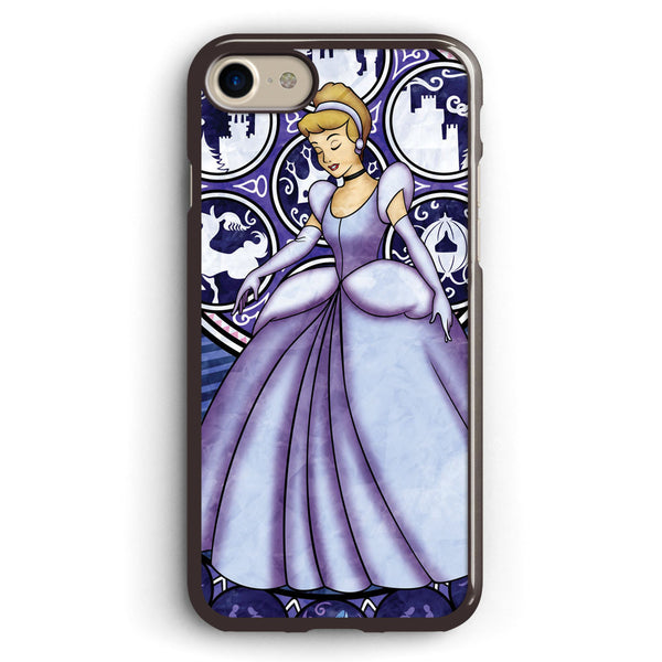 Cinderella Stained Glass Apple iPhone 7 Case Cover ISVA238
