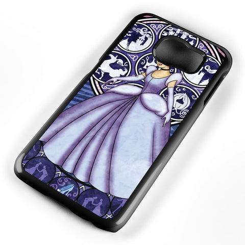 Cinderella Stained Glass Samsung Galaxy S6 Case Cover ISVA238