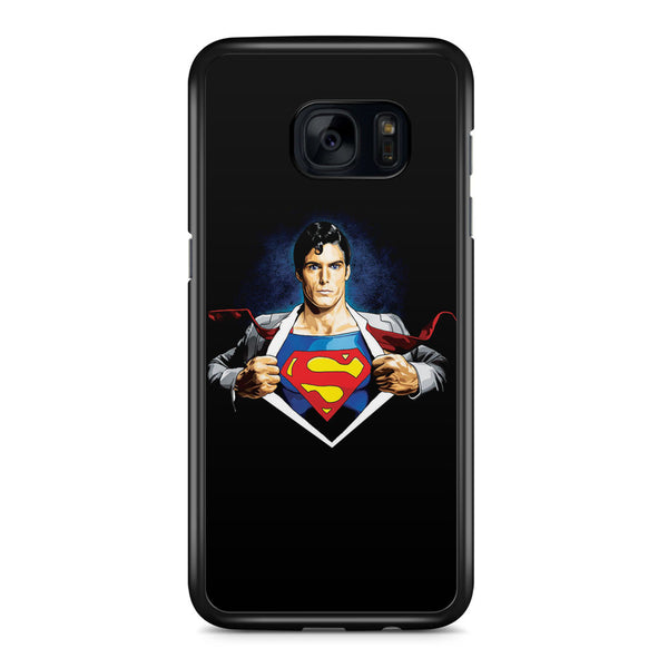 Clark Superman Samsung Galaxy S7 Edge Case Cover ISVA021