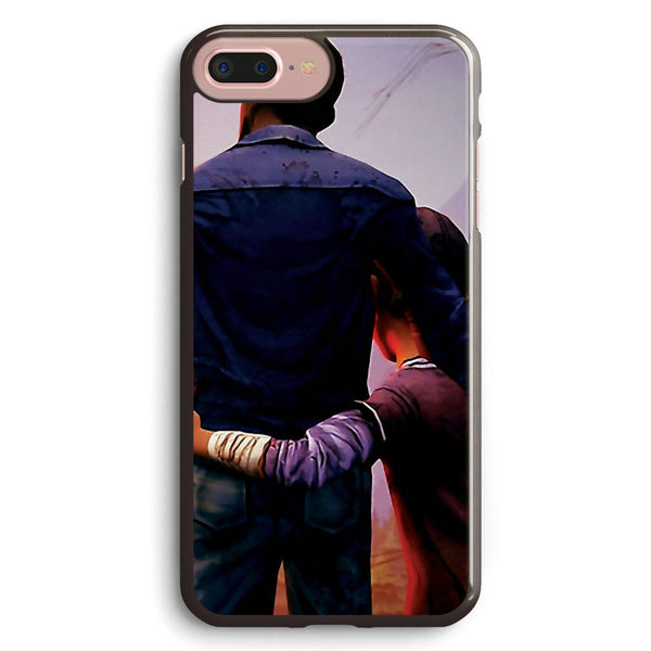 Clementine & Lee the Walking Dead Game Apple iPhone 7 Plus Case Cover ISVB459