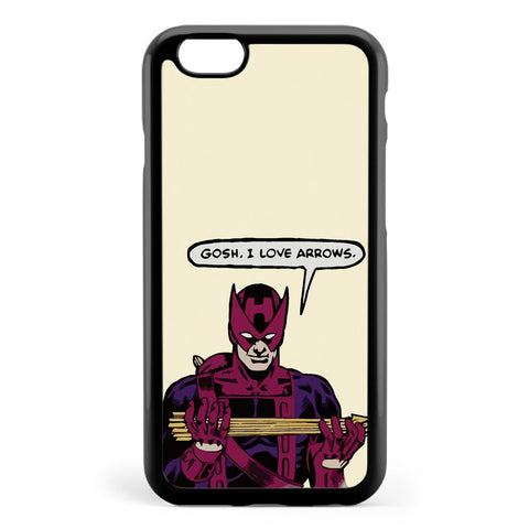 Clint Loves Arrows Apple iPhone 6 / iPhone 6s Case Cover ISVB460