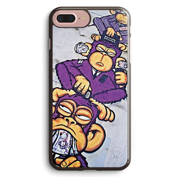 Corporate Greed See No Evil  Hear No Evil  Speak No Evil Apple iPhone 7 Plus Case Cover ISVB467
