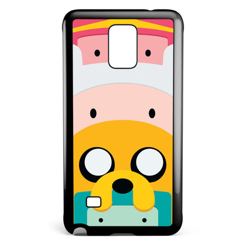 Cute Adventure Time Samsung Galaxy Note 4 Case Cover ISVA414